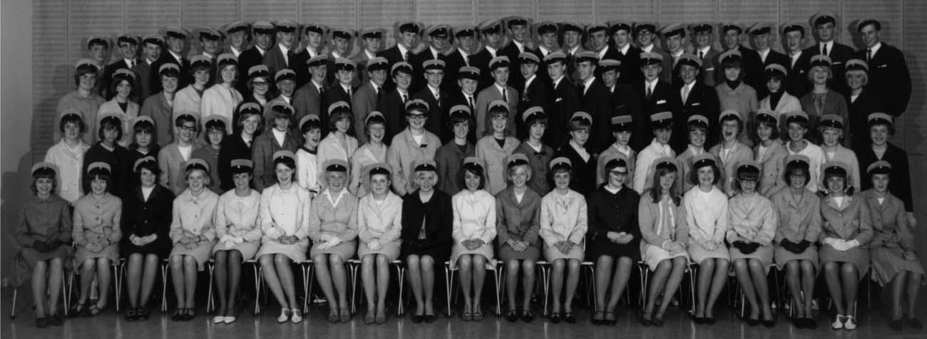 Avgångsklasser 1965